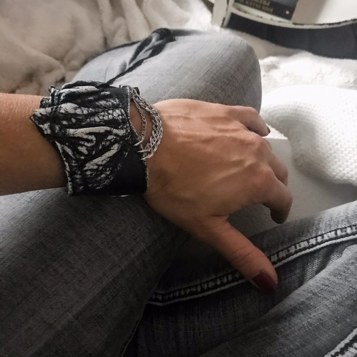 Black Edge Unisex Bracelet EvilEve