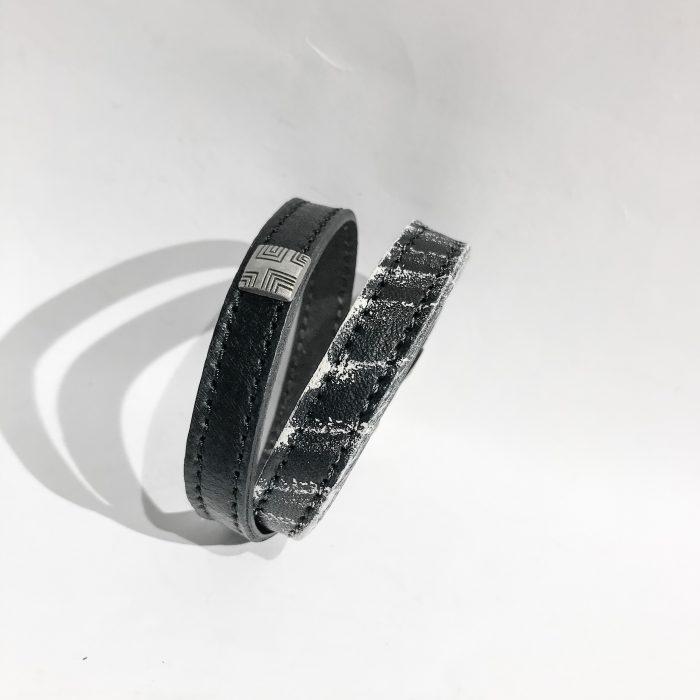 Trick Double Wrap Unisex Bracelet EvilEve