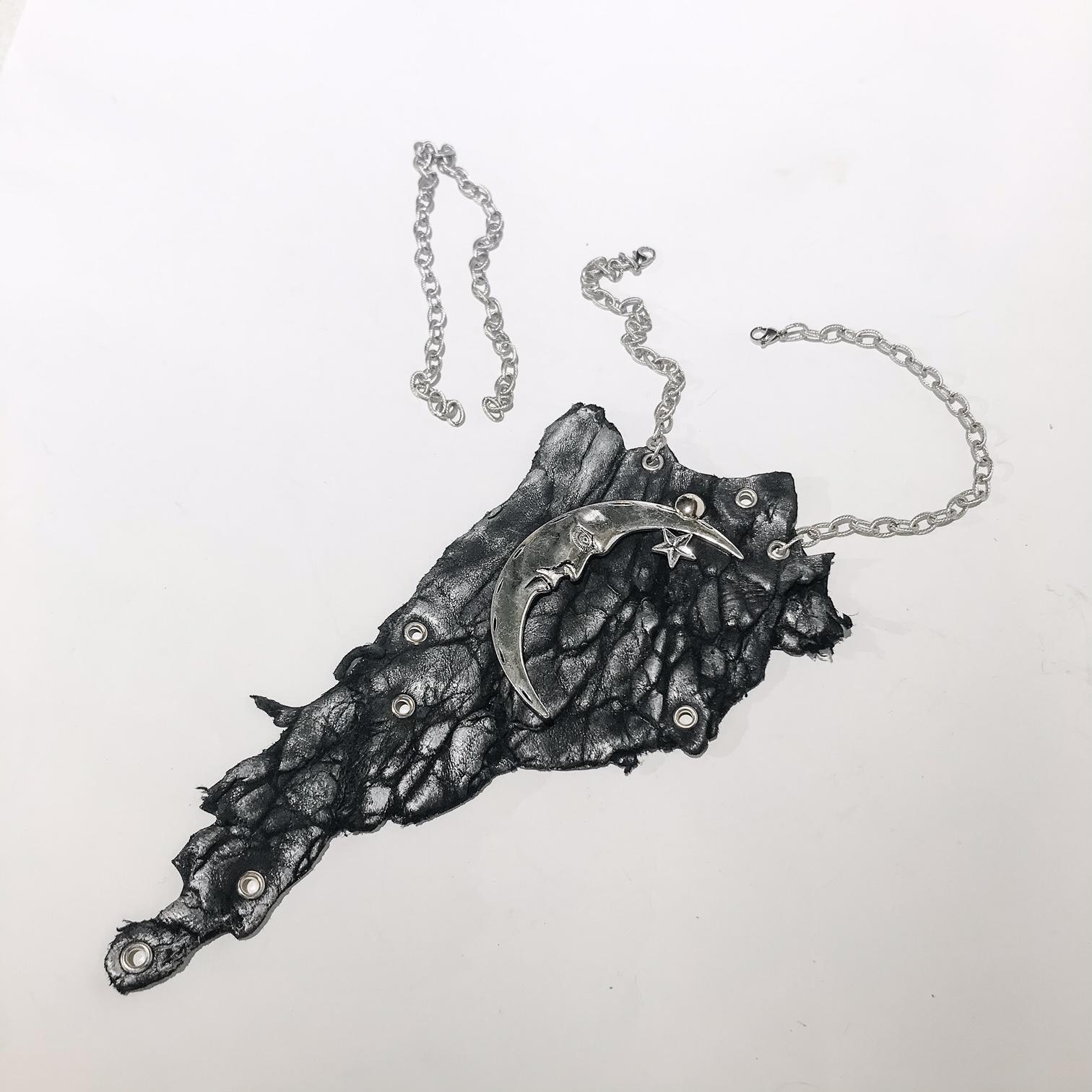 unique handmade necklace Galaxy EvilEve