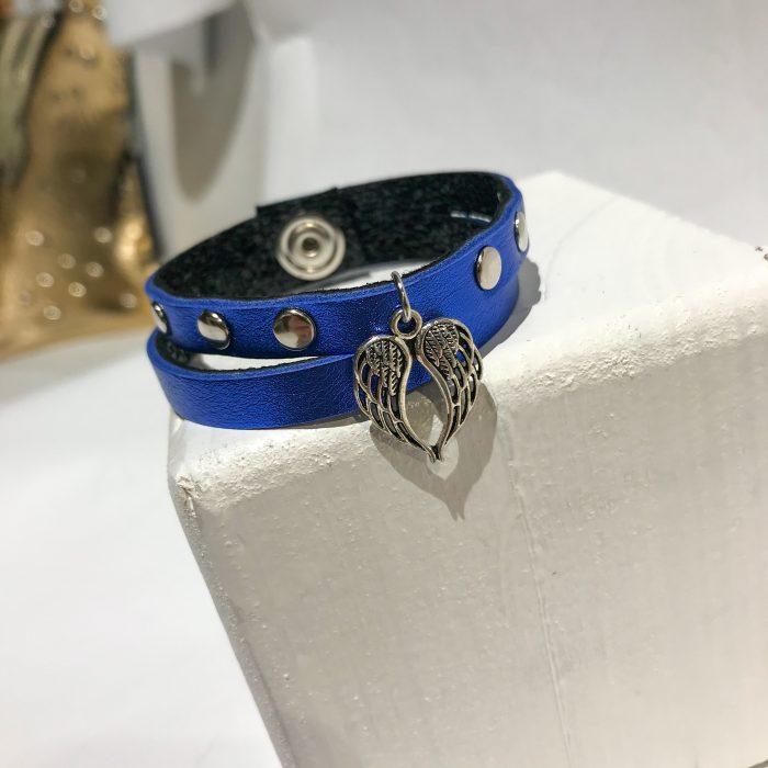 Lucky Angel blue bracelet EvilEve