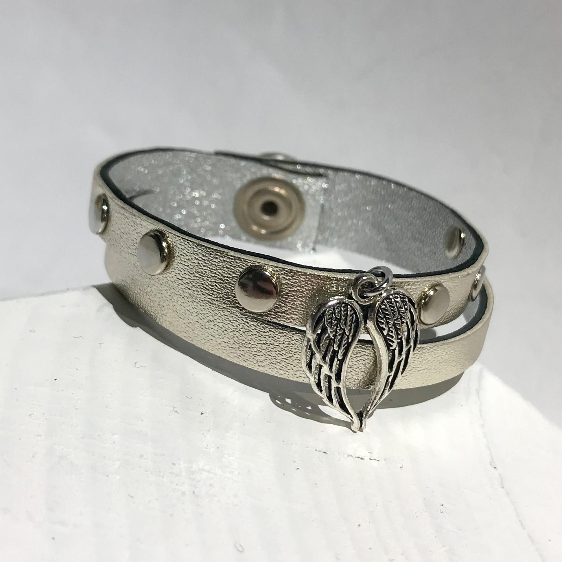 Lucky Angel platinum bracelet
