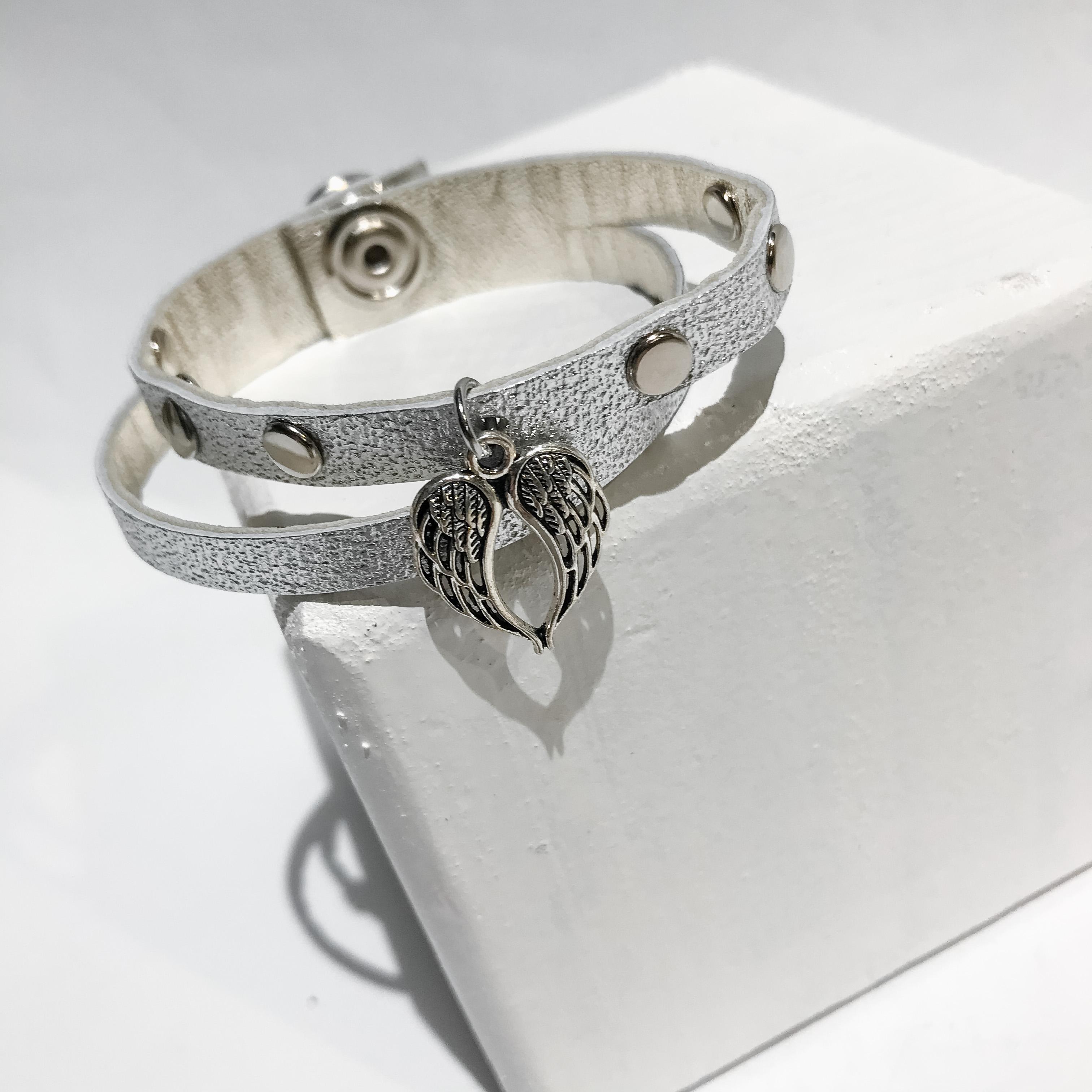 Lucky Angel silver bracelet EvilEve