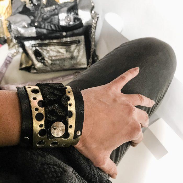 Daydream platinum wrap around bracelet EvilEve