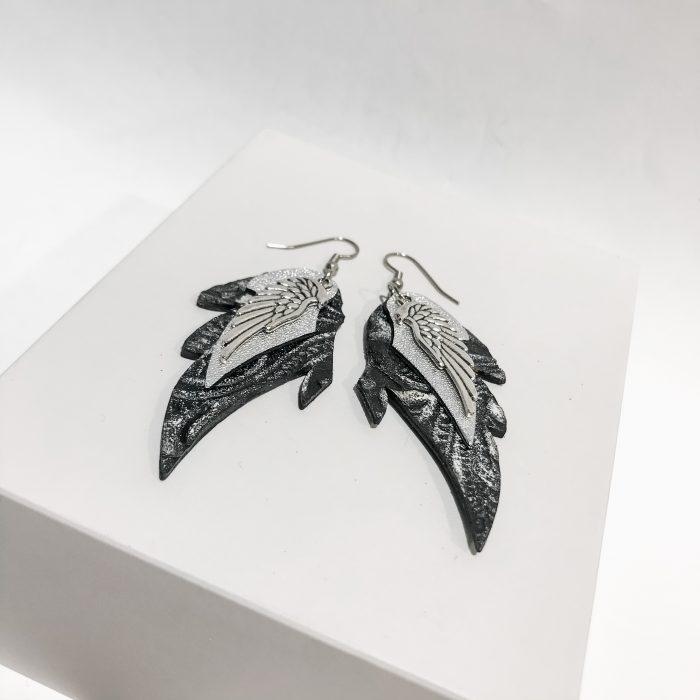Angelwings dream fashion earrings EvilEve