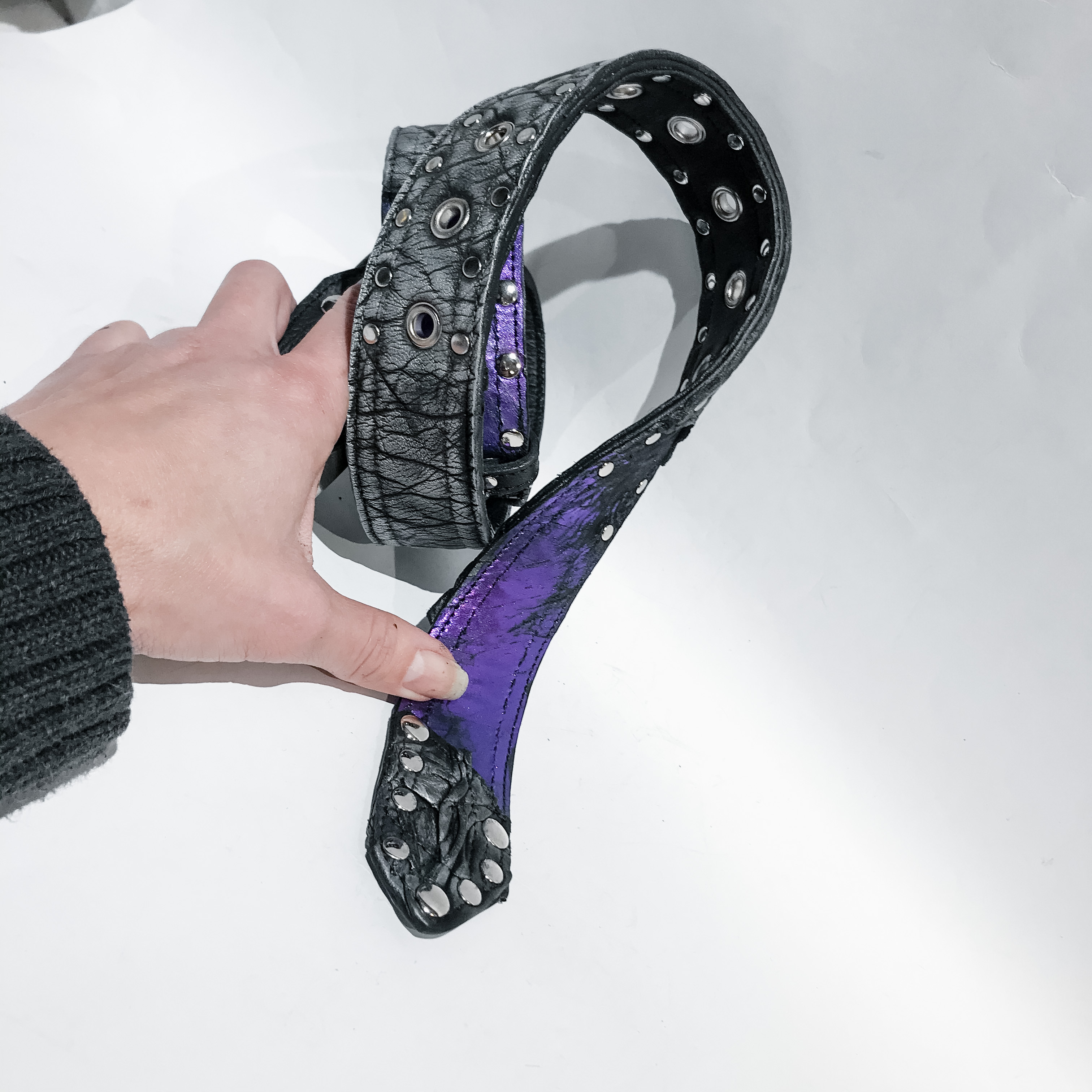 RockerChick Double Face Belt EvilEve