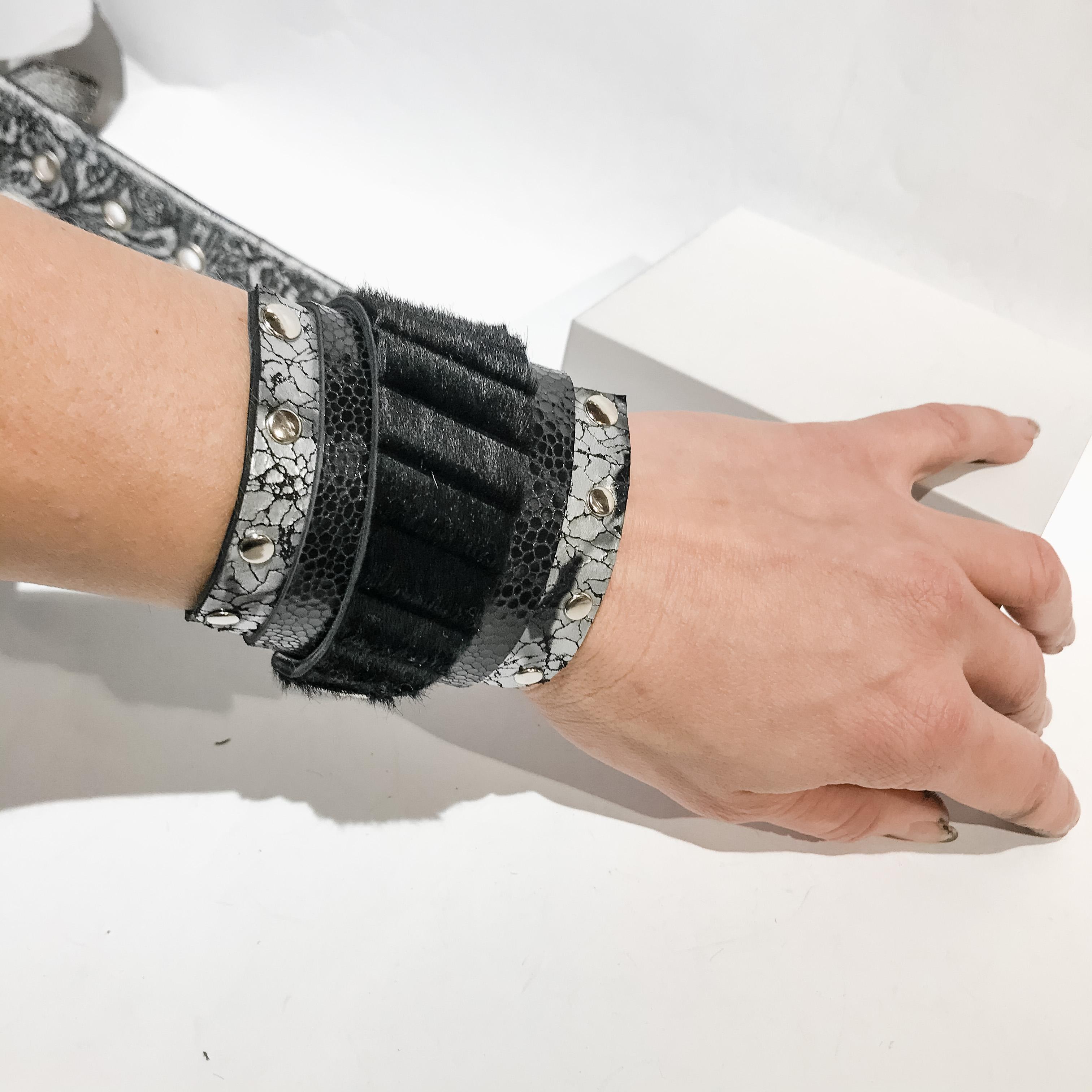Black Daydream wrap around bracelet EvilEve