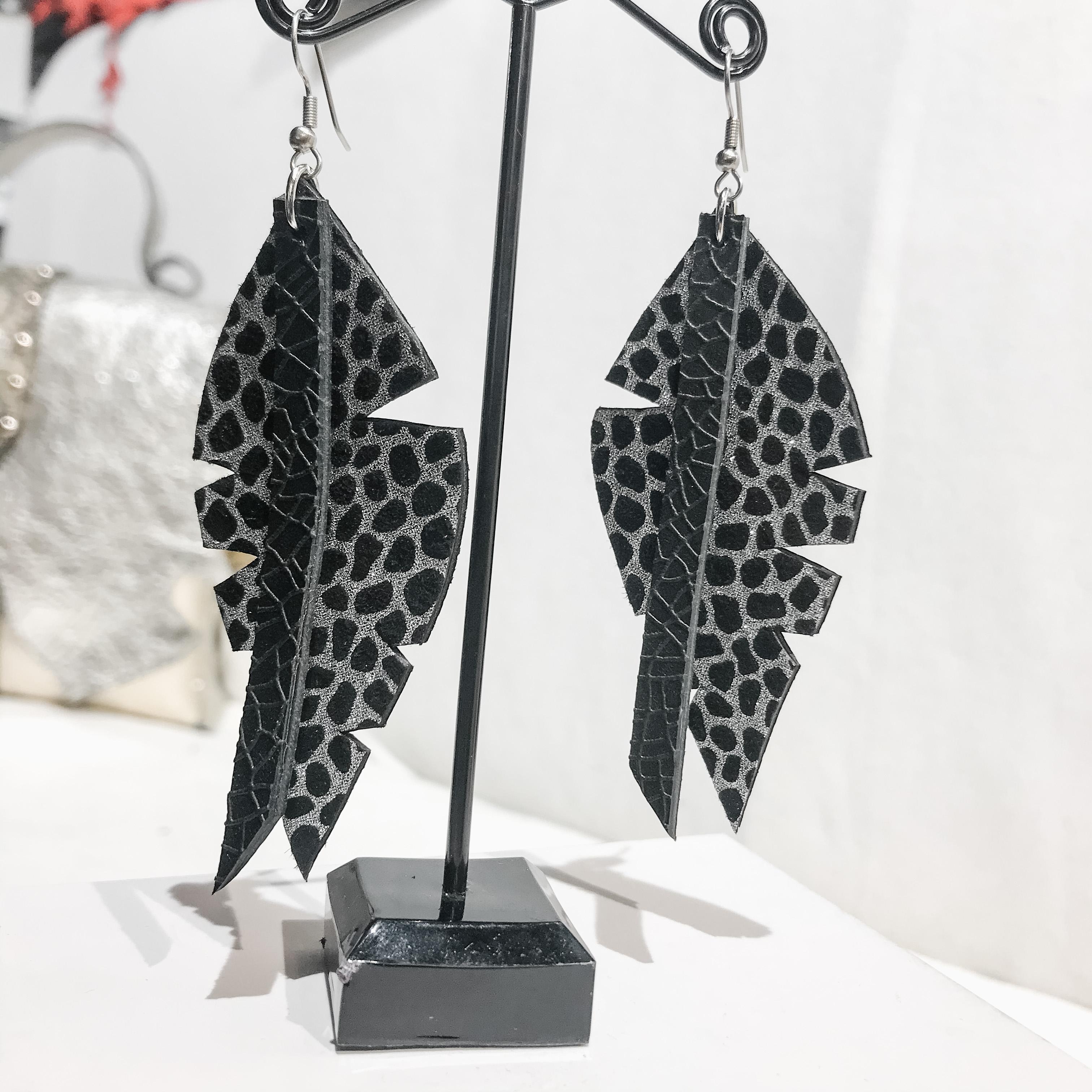 Big Leaf Classic earrings EvilEve