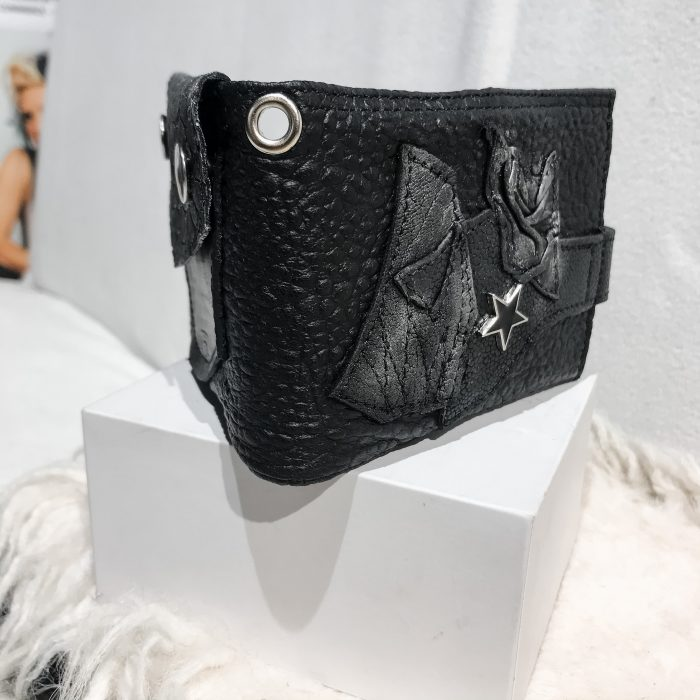 Blackstar Mimas leather wallet EvilEve
