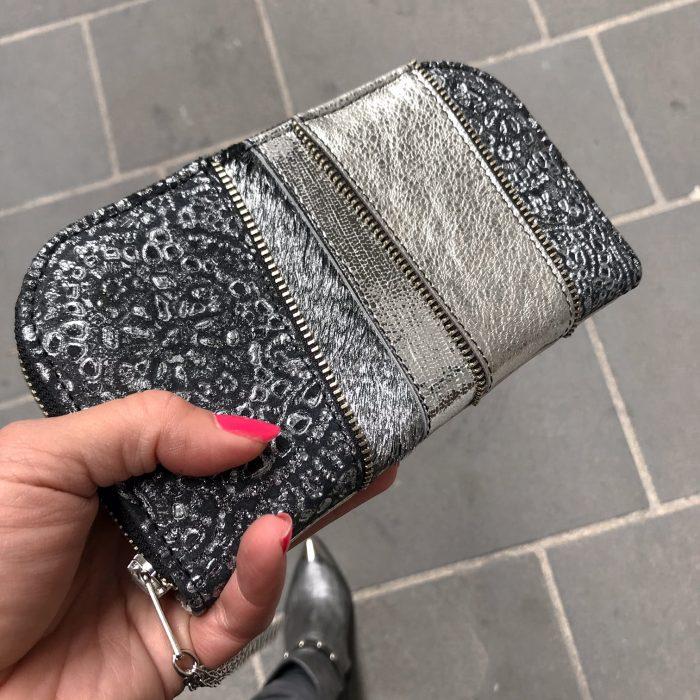 Platinum star chic leather maxi wallet EvilEve