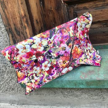 unique leather clutch Summertime EvilEve