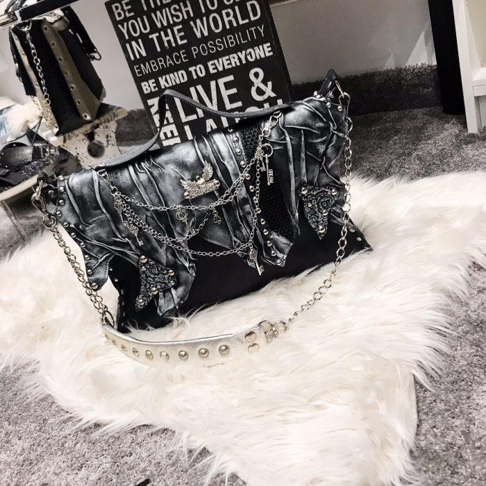 unique leather purse EvilEve Classic